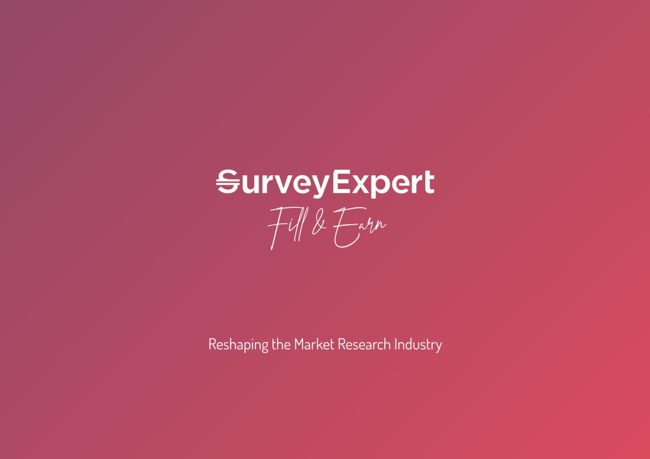 Survey Expert Presentation Cover
